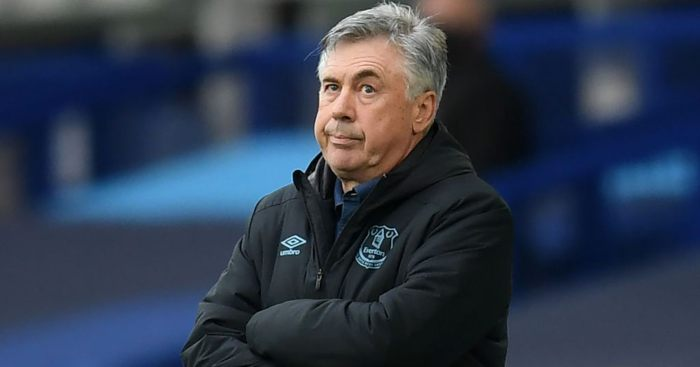 Ancelotti target Europe football for Everton.