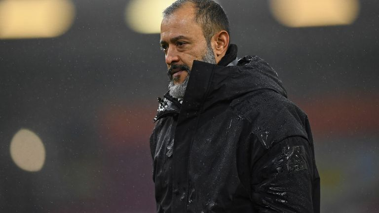 Nuno proud of new team after victory.