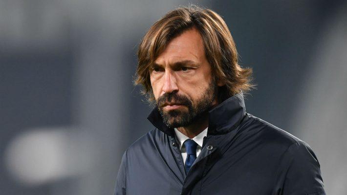 Juventus sack Andrea Pirlo.
