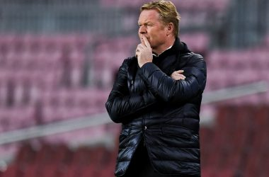 Koeman blast referee after for red card.