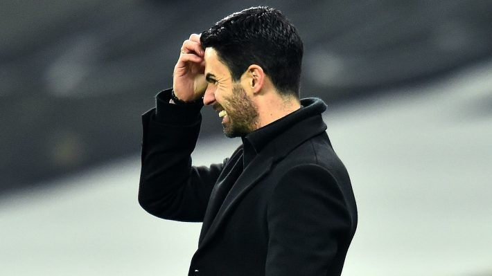Arteta not impressed with Europa league result.