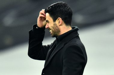 Arteta thought attacking without striker was best.