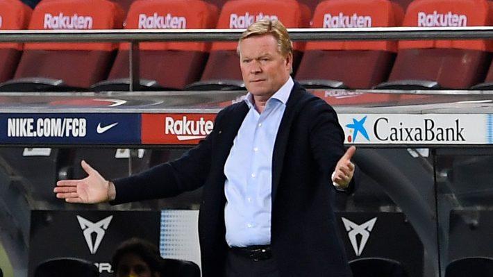 Koeman not sure about Barcelona future.