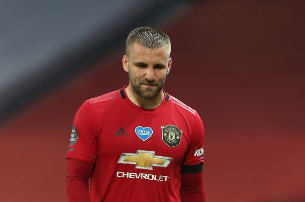 Luke Shaw shift focus to Europa League.