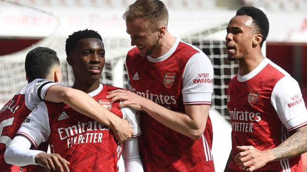 Nketiah got his chance took it against Fulham.