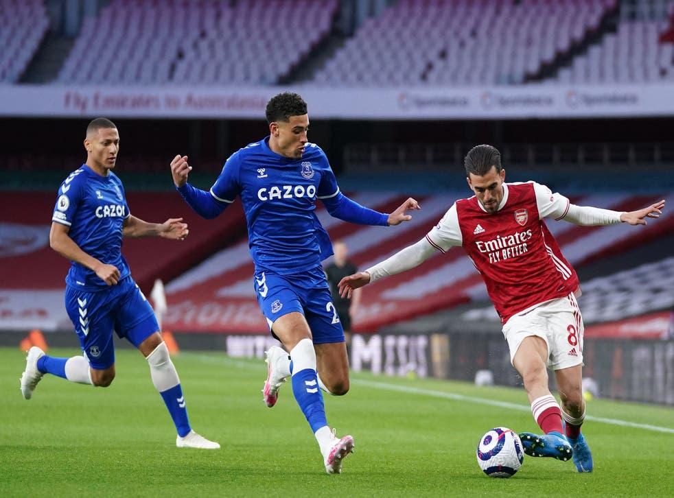 Everton beats Arsenal at the Emirate stadium