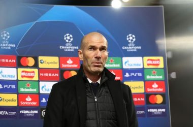 Zidane hails his team for their hard work.