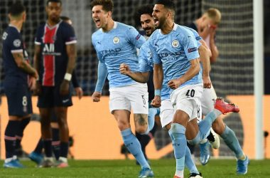 City through to final after victory over PSG.