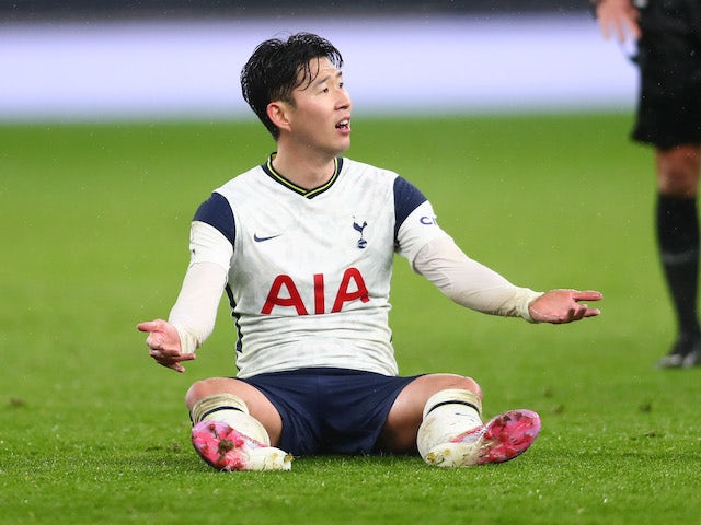 Heung-Min Son says he wants to finish season on positive note.