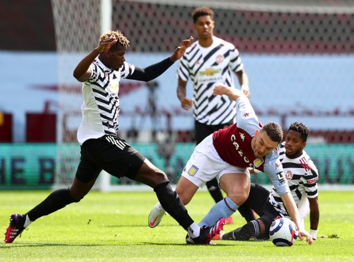 King of come back: United beats Villa.