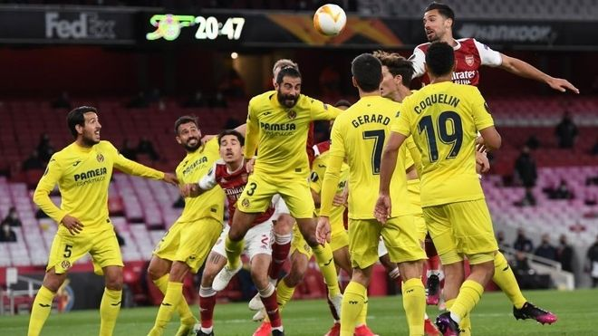 Villarreal holds Arsenal at Emirate to qualify for final.