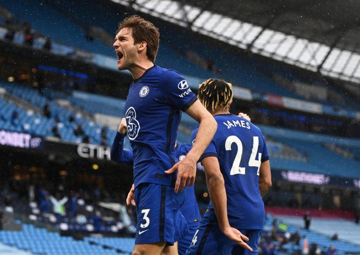 Halftime talk spark up Chelsea's reaction against City.