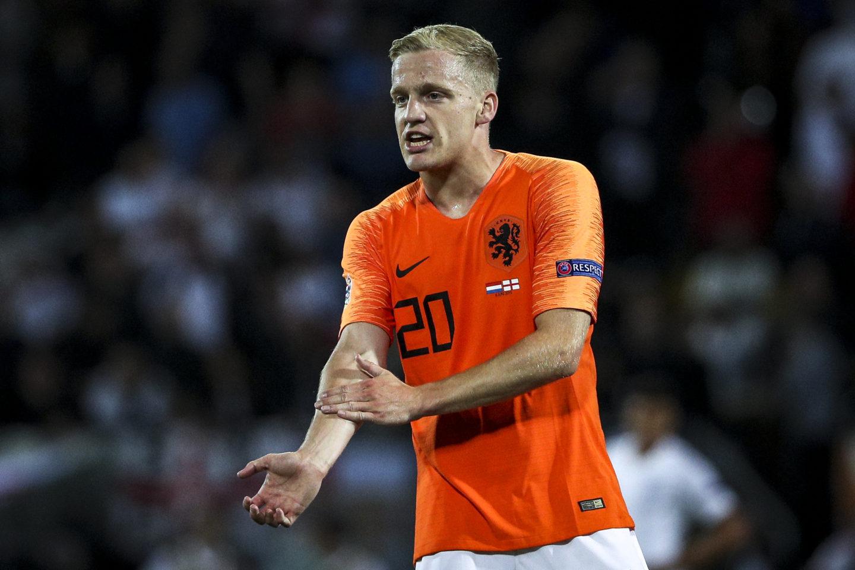 Van de beek out of Euro 2020.