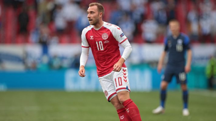 Eriksen to be fitted with heart starting machine.