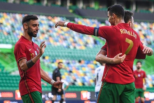 Ronaldo Portugal not worried about coronavirus.