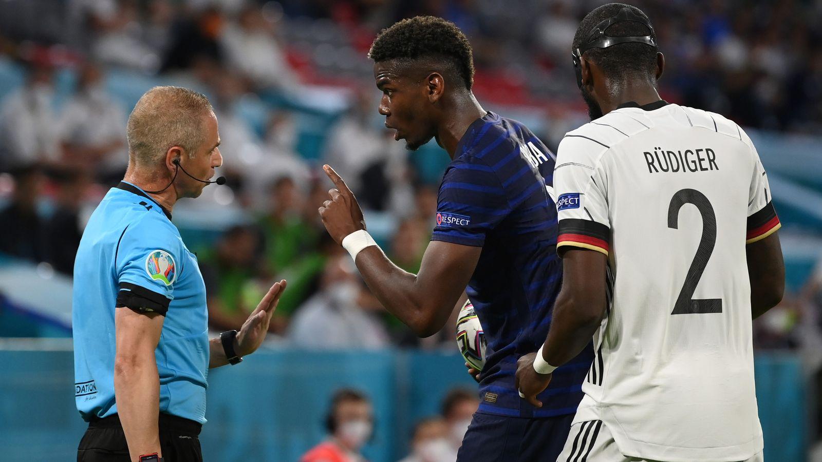 Pogba: I don't want him to be suspended.