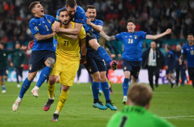 Italy are champions of Europe.