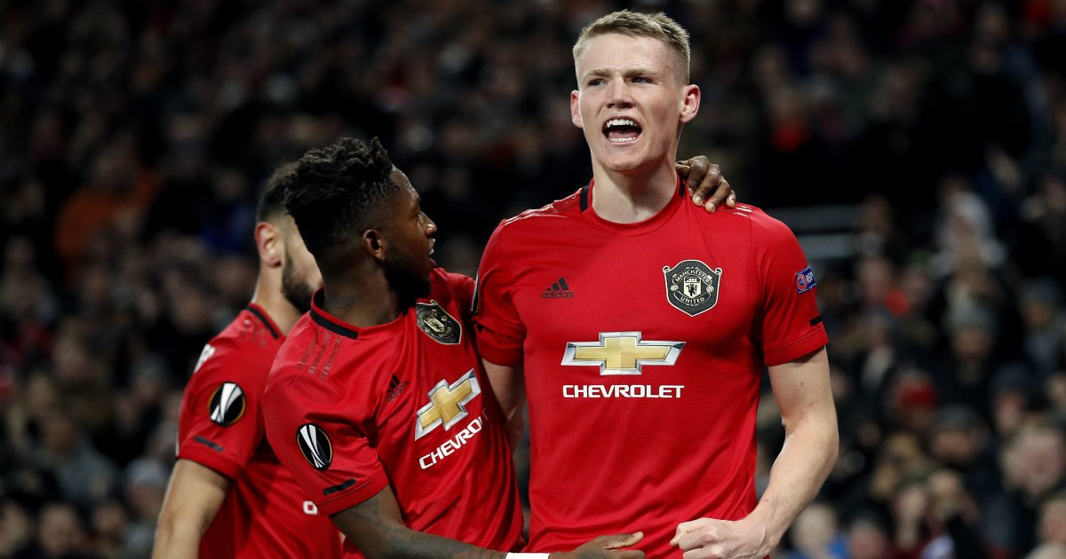 Fred hails experience Scott Mctominay.