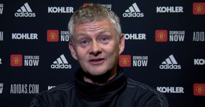 Solskjaer: Our finishing wasn't good enough.