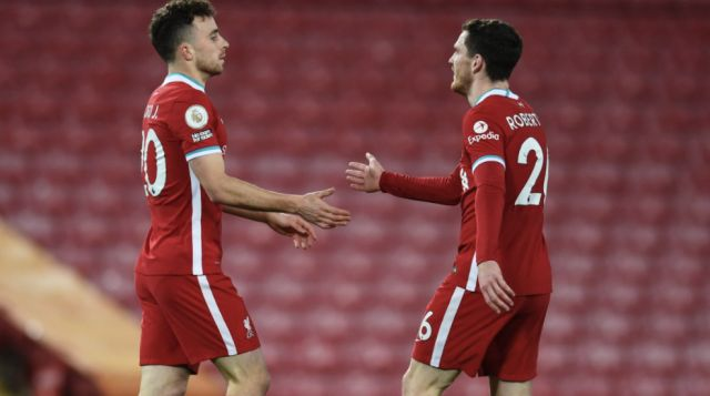Robertson, Jota to feature against Hertha BSC.