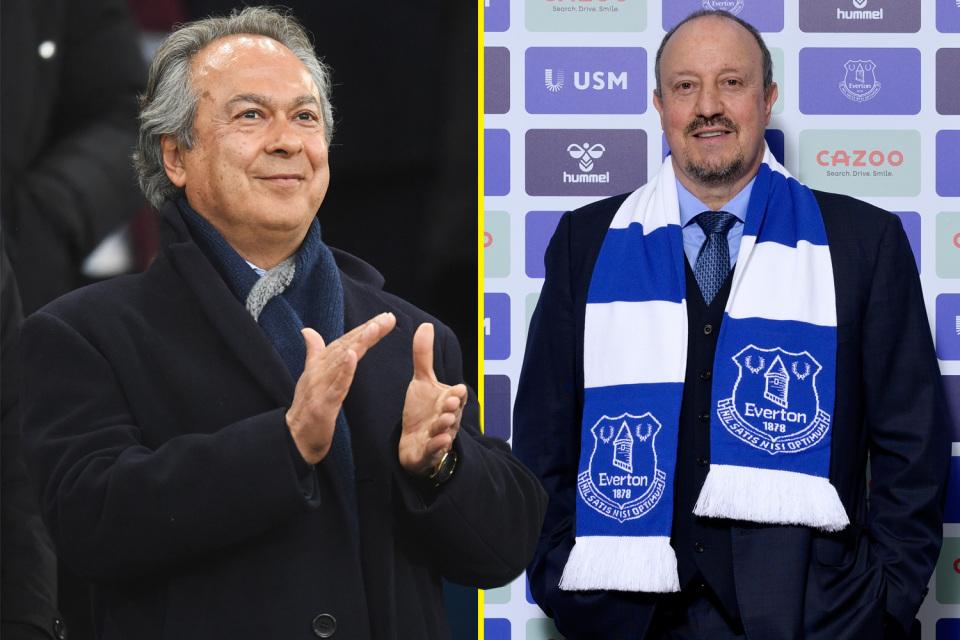Everton owner defends Benitez decision.