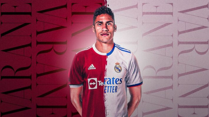 United can play different way with Varane.