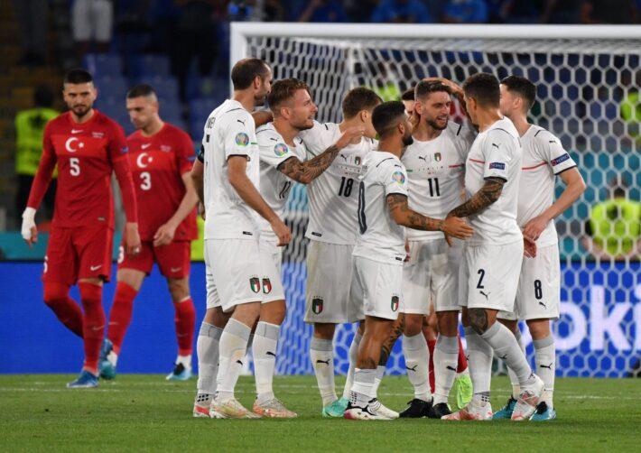 Mourinho analyse Italy ahead of final.