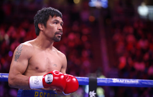 Manny Pacquiao retires from boxing.