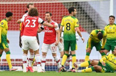 Arsenal vs Norwich Prematch.