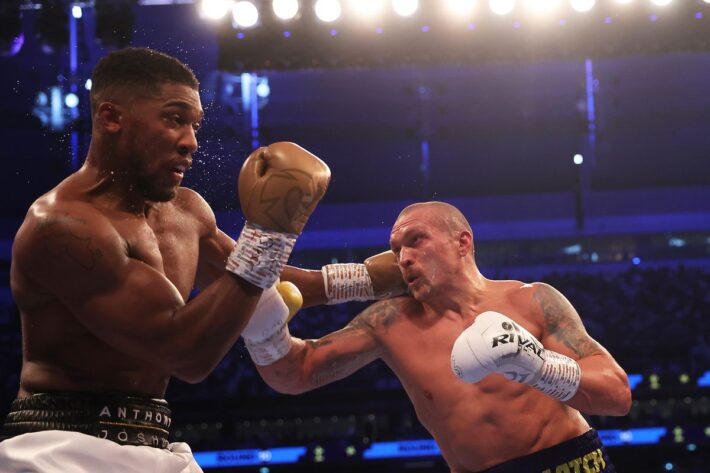 Anthony Joshua vs USyk fight review.