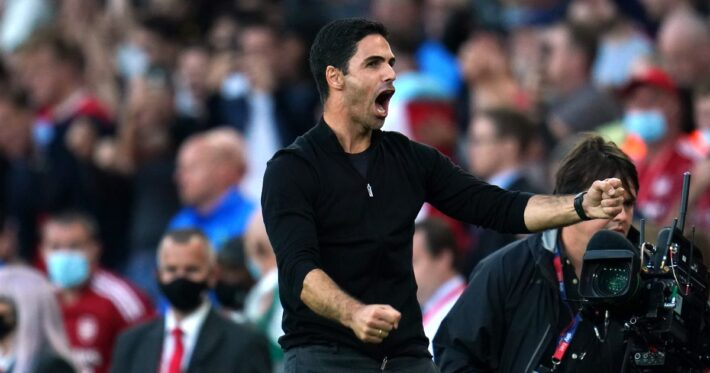 Arteta: Derby victory for the fans.