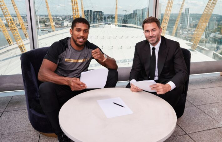 Joshua signs long term deal with Hearn.