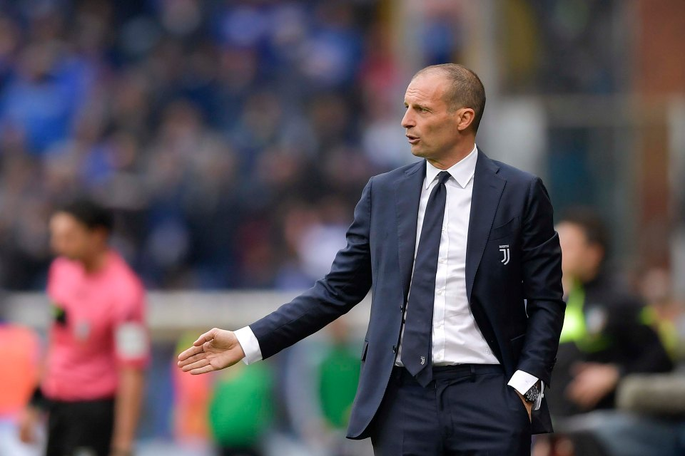 Allegri demands respect from players.