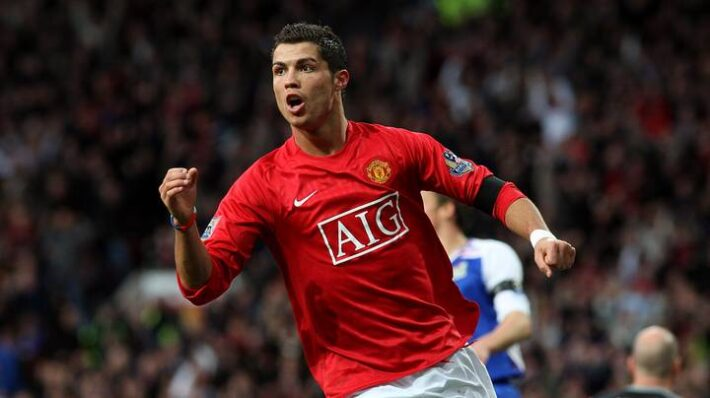 Ronaldo was moulded by United stars.