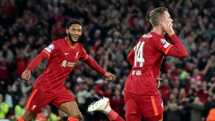 Liverpool fights back to secure a win.