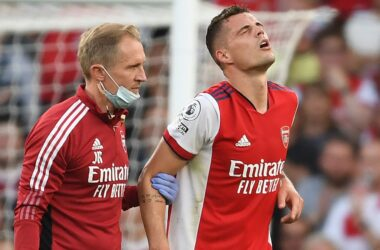Granit Xhaka out for three months.
