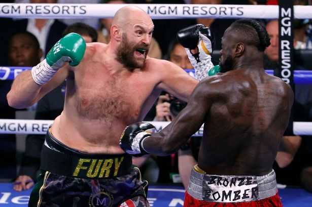 Tyson Fury hints at hanging up gloves.