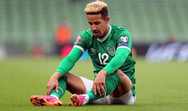 Ireland striker refuses to be vaccinated.