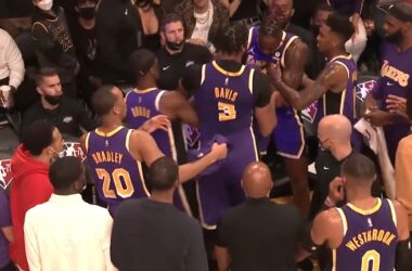 LA Lakers players resolves issues.