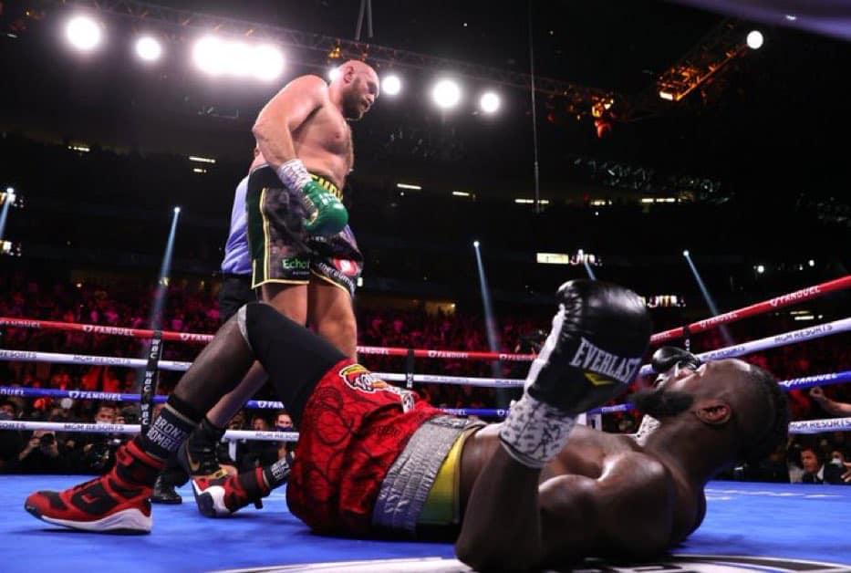 Fury knock out Wilder in Las Vegas.