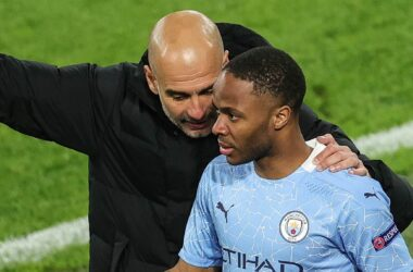 Guardiola insists Sterling is free to leave.