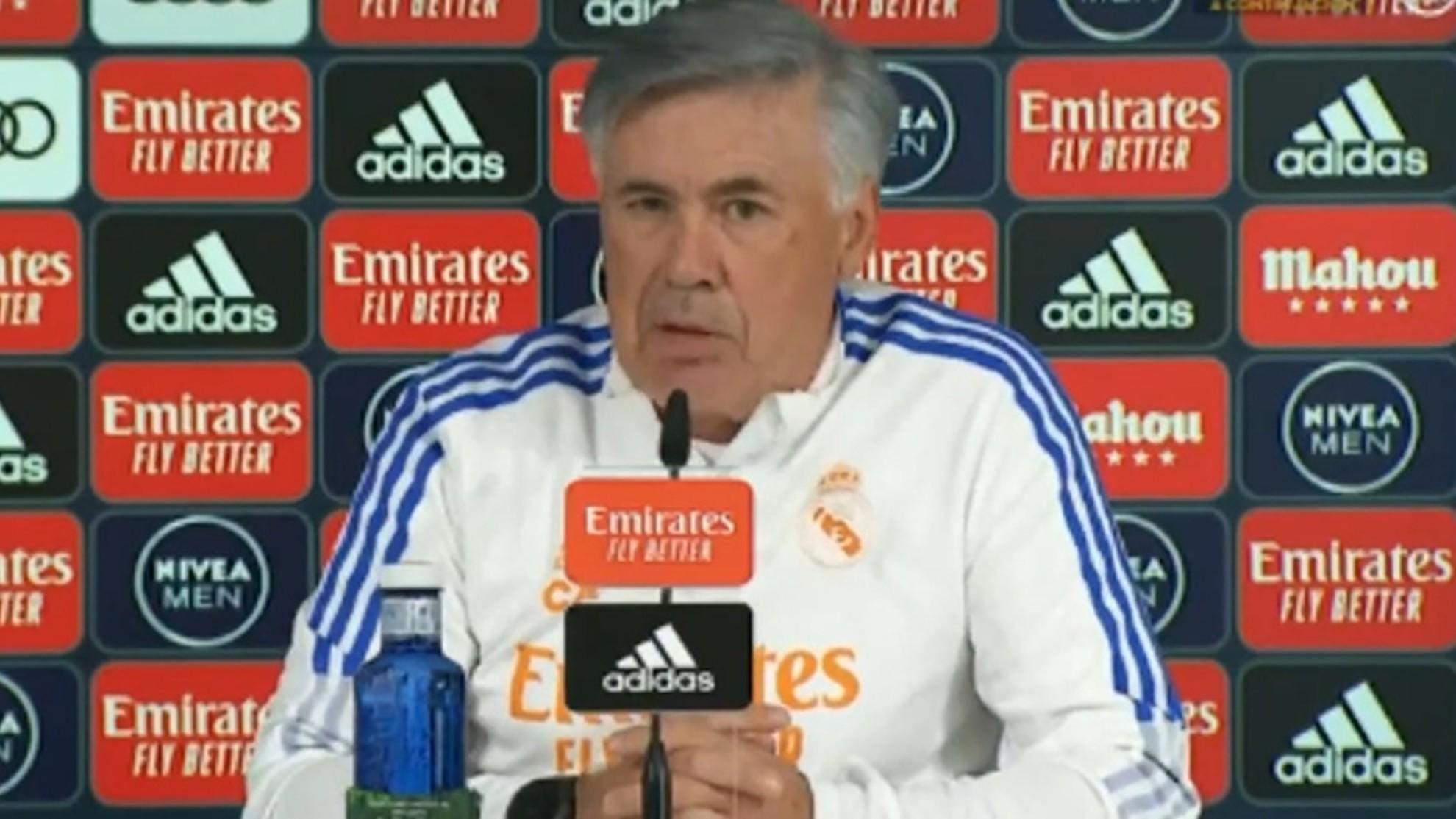 Ancelotti: Fear is a positive feeling.