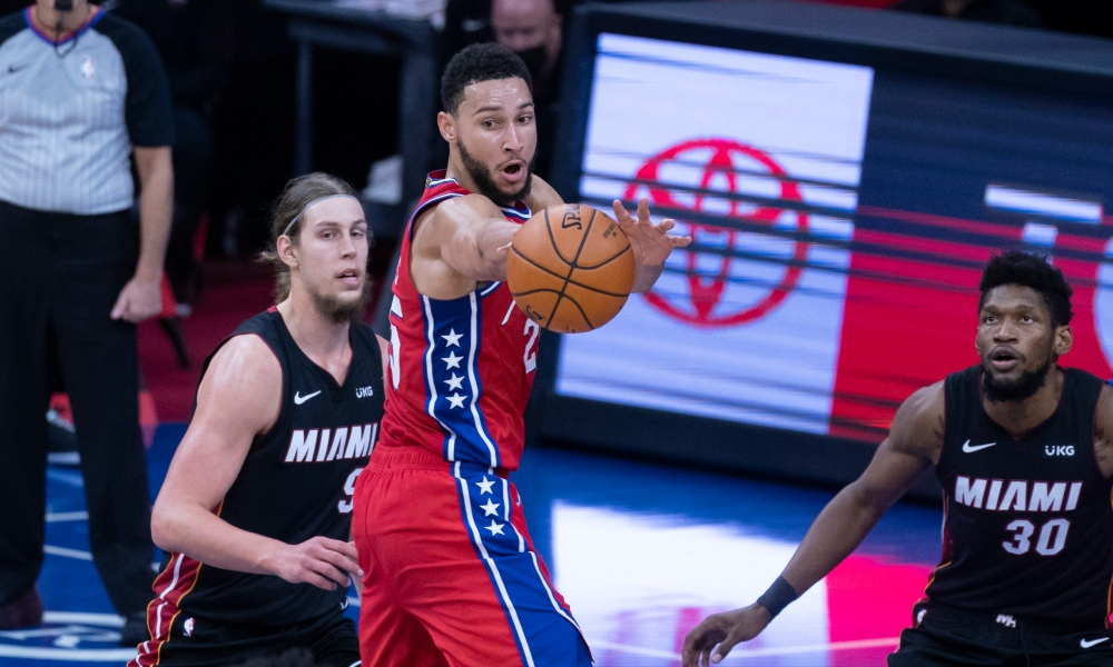 Harris defend Simmons after meeting 76ers.
