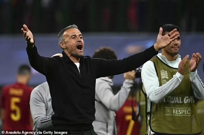 Enrique: Spain press was key to victory.