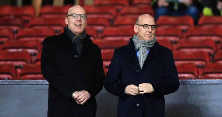 Man United owners put shares up for sale.