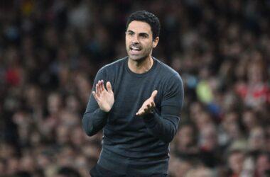 Vieira likened Arteta to Deschamps.