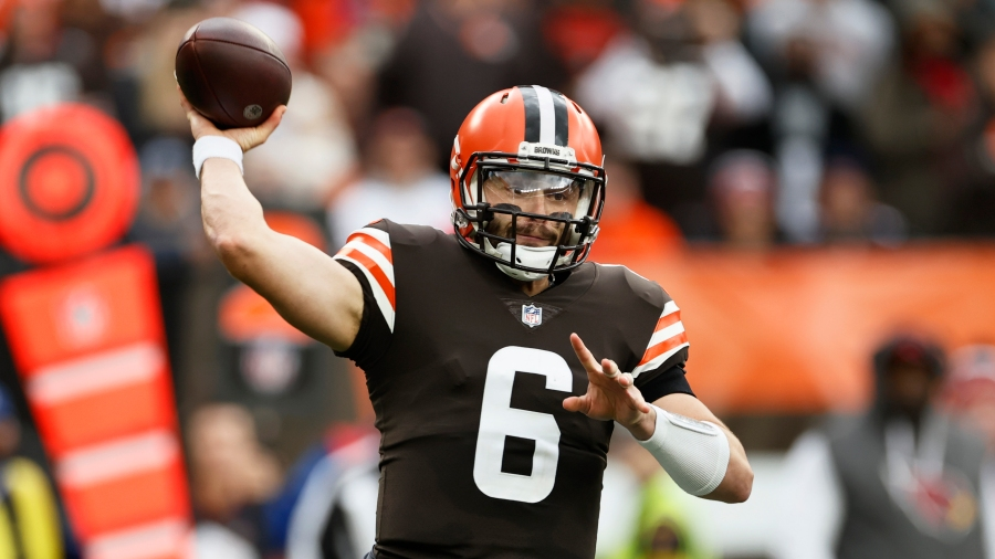 Cleveland Brown quarterback Mayfield is preparing to be involved agaisnt Denver Broncos despite injury.
