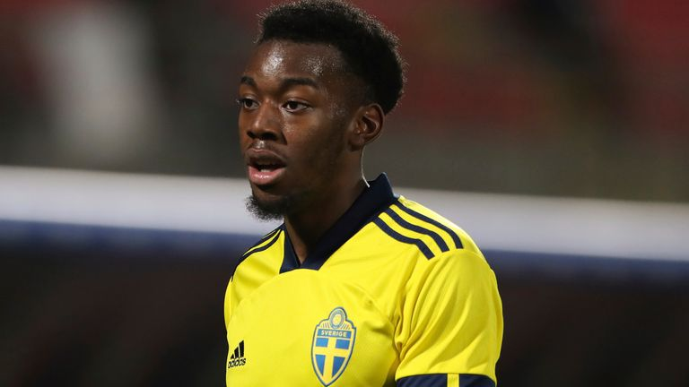 Manchester United player racially abused.