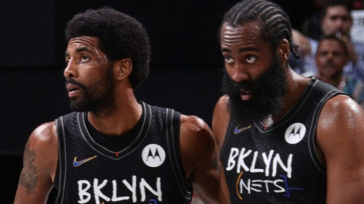 Harden wants Irving on court.
