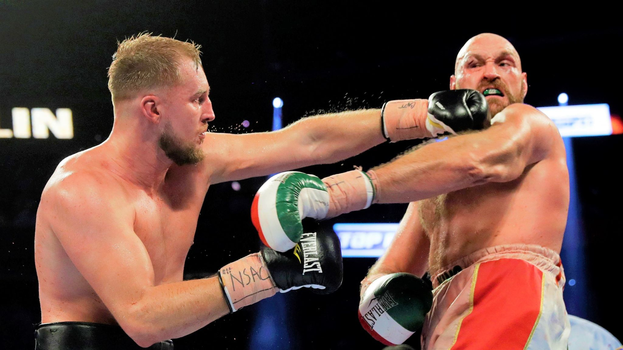 Otto Wallin could rematch Tyson Fury.